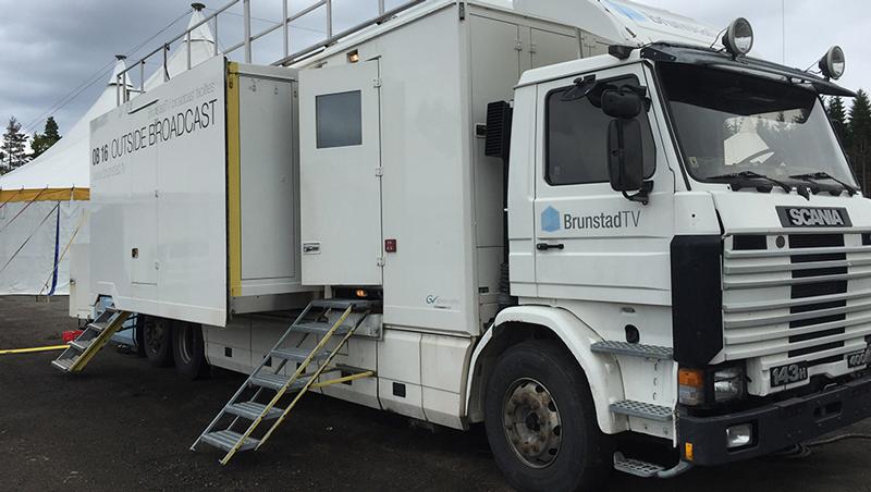 Med TV-bussen kan BrunstadTV produsere TV-sendinger fra ulike lokasjoner både i Norge og utlandet.