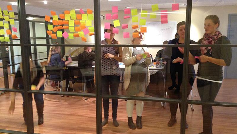 Fra en workshop for utvikling av nye konsepter.
