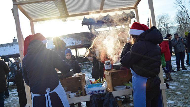 Julemarked på Bolstad
