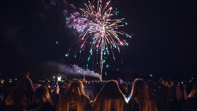 Fest inn i det nye året