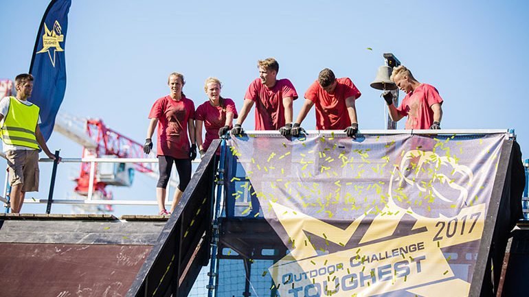 Nederland kjempet seg til topps i Brunstad Toughest