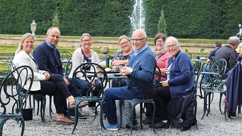 Seniorgruppe på tur til England
