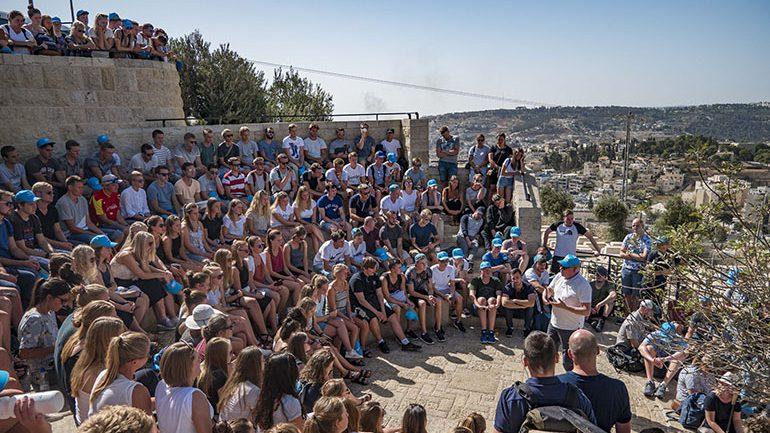 154 ungdommer på reise i Israel