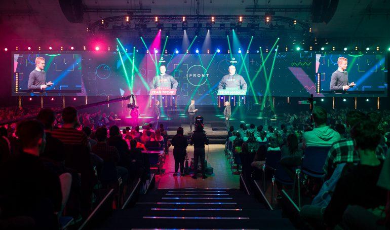 Live finale i sesongens ungdomsprogram på BrunstadTV – «I Front»