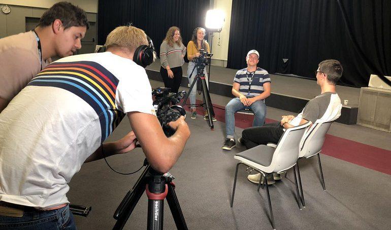Opplæringsuke for nye medarbeidere hos BrunstadTV