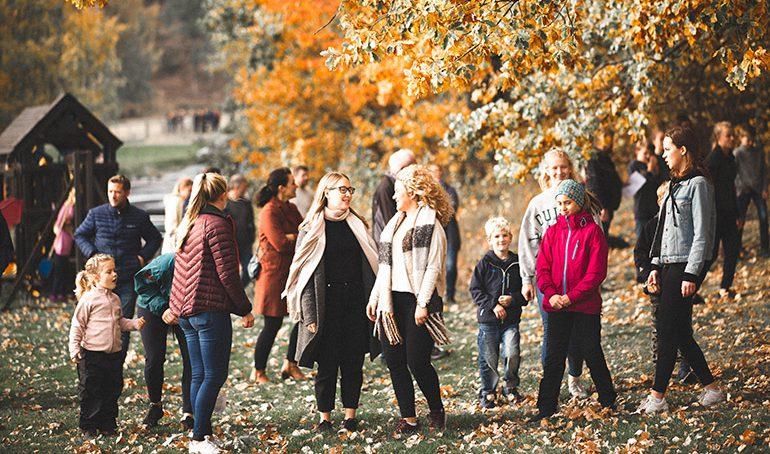 Høstfest i lokalmenigheten i Drammen
