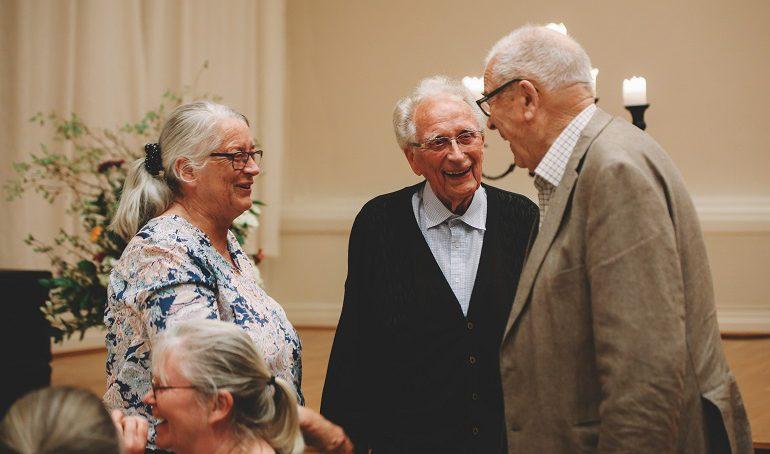 Gode tilbud til de eldre i menigheten