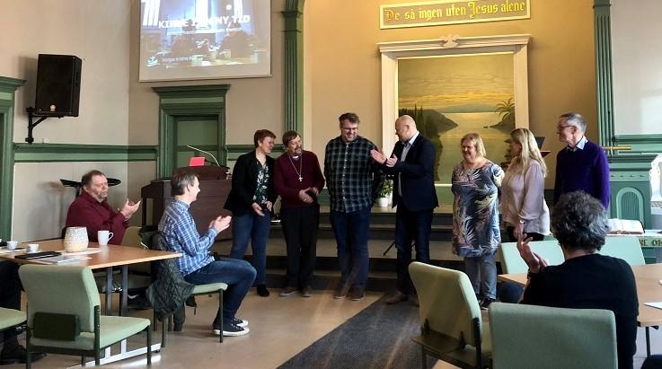 Tverrkirkelig konferanse: Kirke i en ny tid