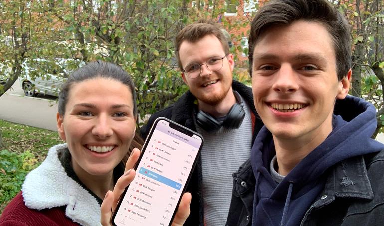 Har BCC en egen app til gaver og dugnad?