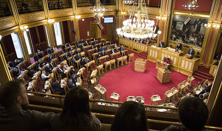 NORWEGIAN PARLIAMENT PASSES NEW LEGISLATION  FOR RELIGIOUS COMMUNITIES