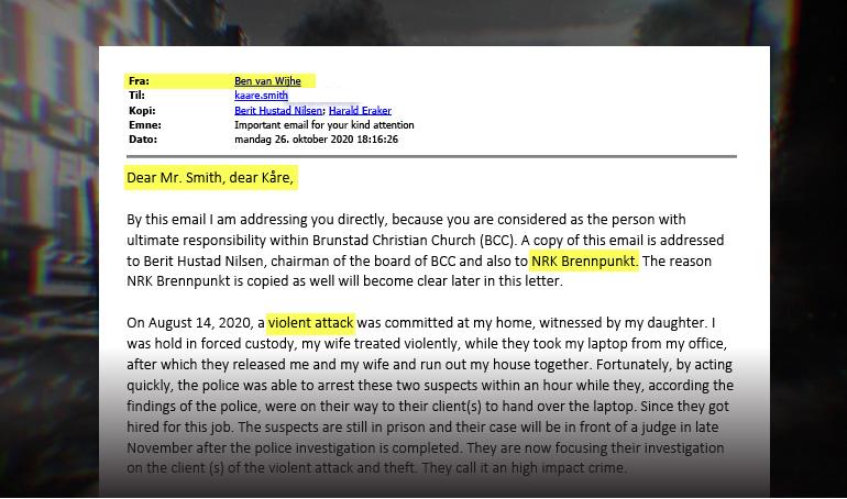 Siste nytt: BCC blir beskyldt for alvorlige hendelser